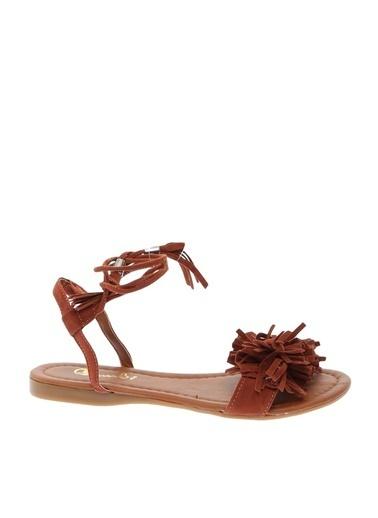 Bambi Bambi Ayakkabı Sandalet Kiremit